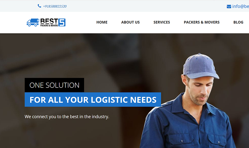 Best 5 Packers Movers